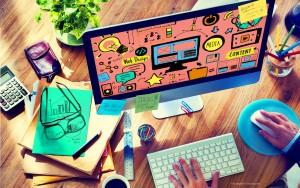 Kreatives Webdesign