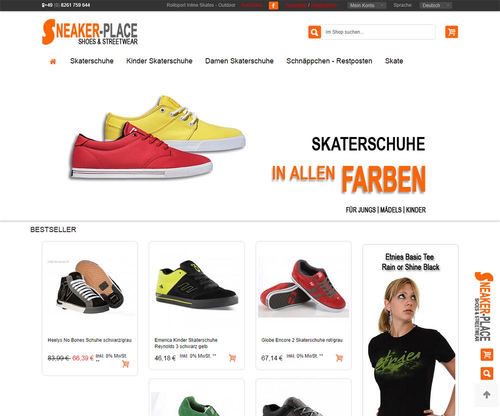 Skaterschuhe Online Shop